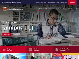 Universitas Ubudiyah Indonesia Screenshot