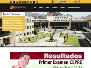 Universidad Nacional Tecnológica de Lima Sur's Website Screenshot
