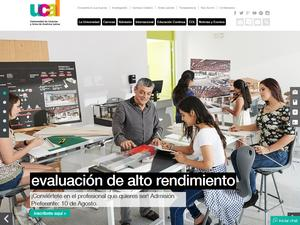 Universidad de Ciencias y Artes de América Latina's Website Screenshot
