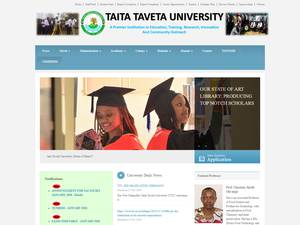 Taita Taveta University Screenshot