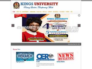 Kings University Screenshot