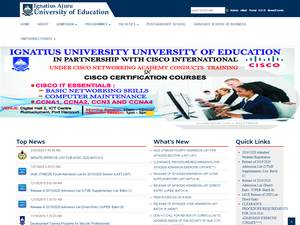 Ignatius Ajuru University of Education Screenshot