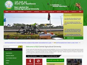 Rani Lakshmi Bai Central Agricultural University Screenshot
