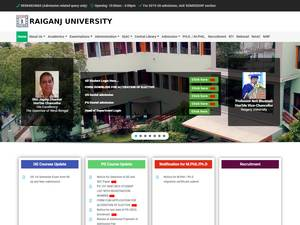 Raiganj University Screenshot