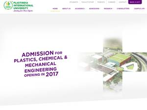 Plastindia International University Screenshot