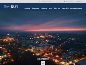 Ruhr University Bochum Screenshot