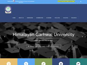 Himalayan Garhwal University Screenshot