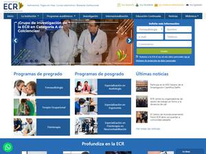 Fundacion Escuela Colombiana de Rehabilitacion's Website Screenshot