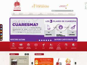 Fundacion Universitaria Salesiana's Website Screenshot