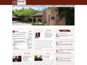 Universidade Jean Piaget de Moçambique's Website Screenshot