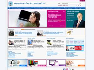 Naxcivan Dövlet Universiteti Screenshot