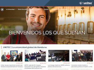 Universidad Tecnológica Centroamericana's Website Screenshot