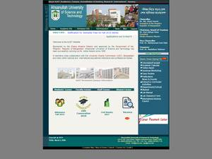 Ahsanullah University of Science and Technology Screenshot