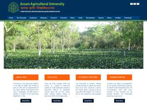 Assam Agricultural University Screenshot