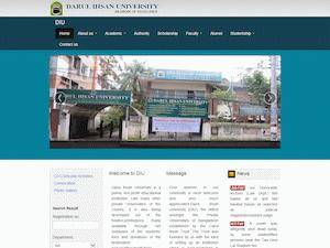 Darul Ihsan University Screenshot