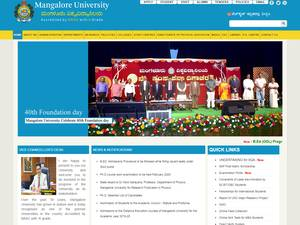 Mangalore University Screenshot