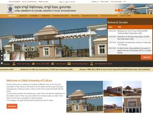 Utkal University of Culture Screenshot
