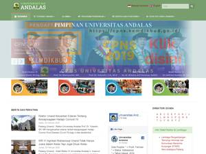 Universitas Andalas Screenshot