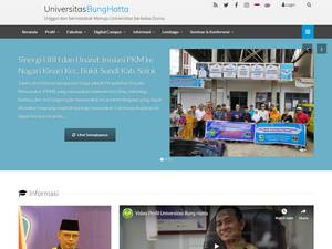 Universitas Bung Hatta Screenshot
