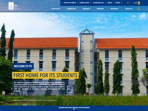 Institut Teknologi Sepuluh Nopember's Website Screenshot
