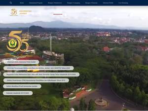 University of Jember Screenshot