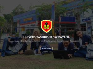Universitas Krisnadwipayana Screenshot