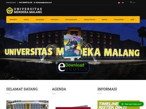 Universitas Merdeka Malang Screenshot