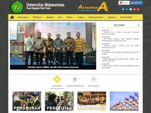 Universitas Mulawarman Screenshot