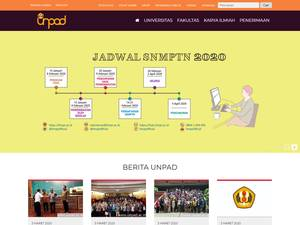 Universitas Padjadjaran Screenshot