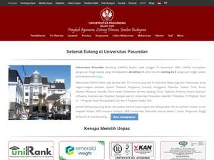 Universitas Pasundan Screenshot