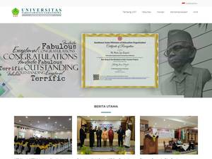 Universitas Sarjanawiyata Tamansiswa's Website Screenshot