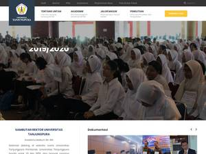 Universitas Tanjungpura Screenshot