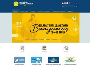 Universitas Jenderal Soedirman Screenshot