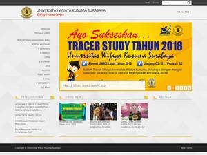 Universitas Wijaya Kusuma Surabaya Screenshot