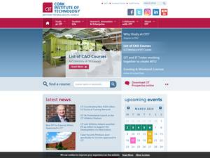 Cork Institute of Technology's Website Screenshot