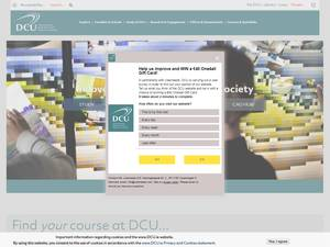 Dublin City University Screenshot