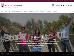 University of Limerick Screenshot