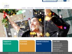 Università Carlo Cattaneo Screenshot