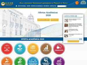 Universidad Andina Simón Bolivar Screenshot