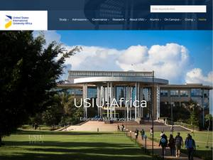 United States International University Africa Screenshot