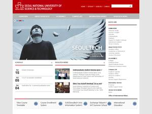 Seoul National University of Science and Technology's Website Screenshot