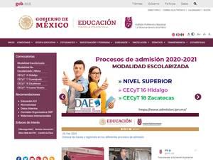 Instituto Politécnico Nacional Screenshot