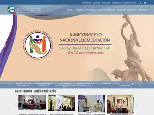 Universidad Autónoma de Baja California Sur's Website Screenshot