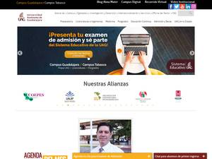Universidad Autónoma de Guadalajara Screenshot
