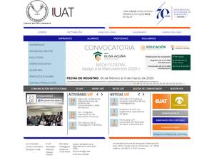 Universidad Autónoma de Tamaulipas's Website Screenshot