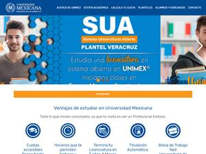Universidad Mexicana S.C. Screenshot