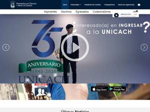 University of Arts and Science of Chiapas Screenshot