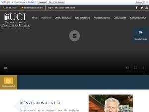 Universidad de Cuautitlán Izcalli's Website Screenshot