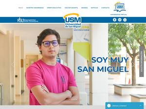 Universidad de San Miguel A.C. Screenshot