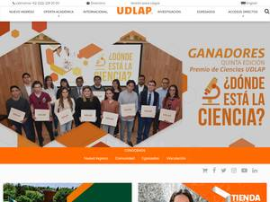 Universidad de las Américas Puebla Screenshot